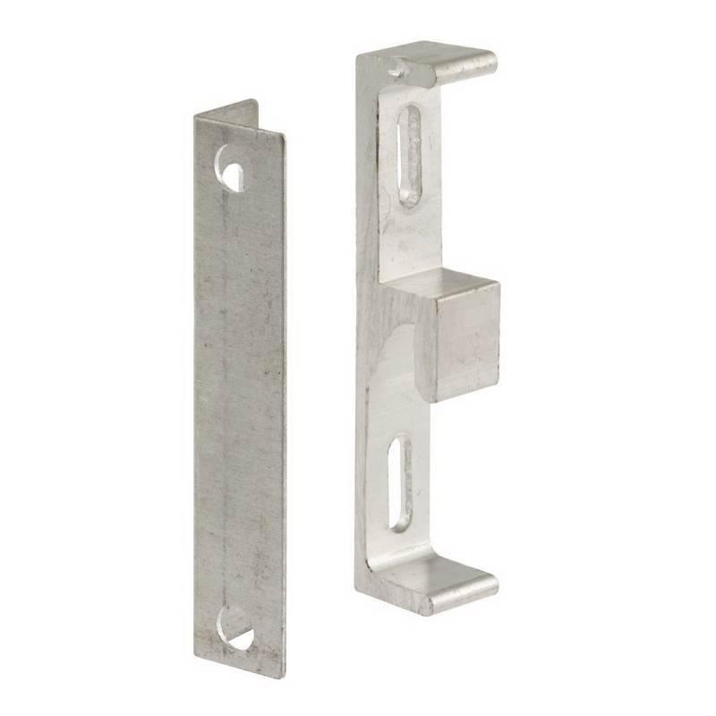 Prime Line E 2046 Sliding Glass Door Keeper With Angle Bracket