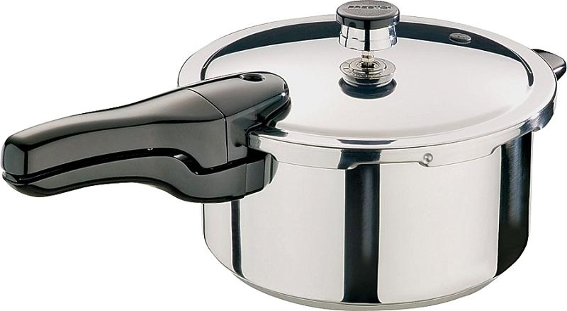 Presto Pressure Cooker, 4 qt Capacity, Stainless Steel - CBS BAHAMAS LTD