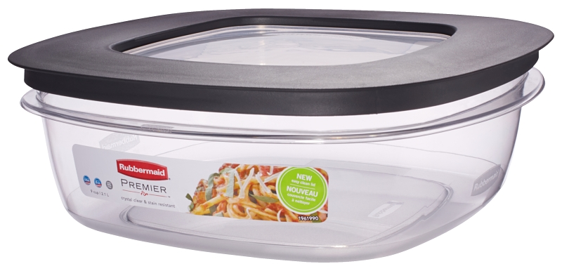 Rubbermaid Premier Square Food Storage Container, 9-Cup - CBS BAHAMAS LTD