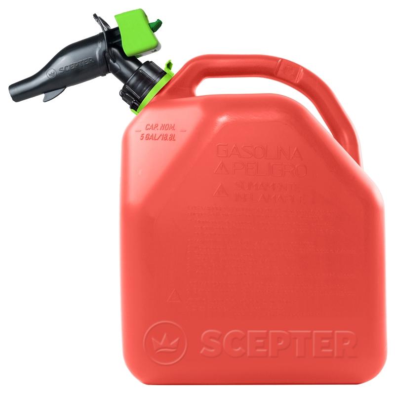 Scepter SmartControl Gasoline Container, 5 gal - CBS BAHAMAS LTD