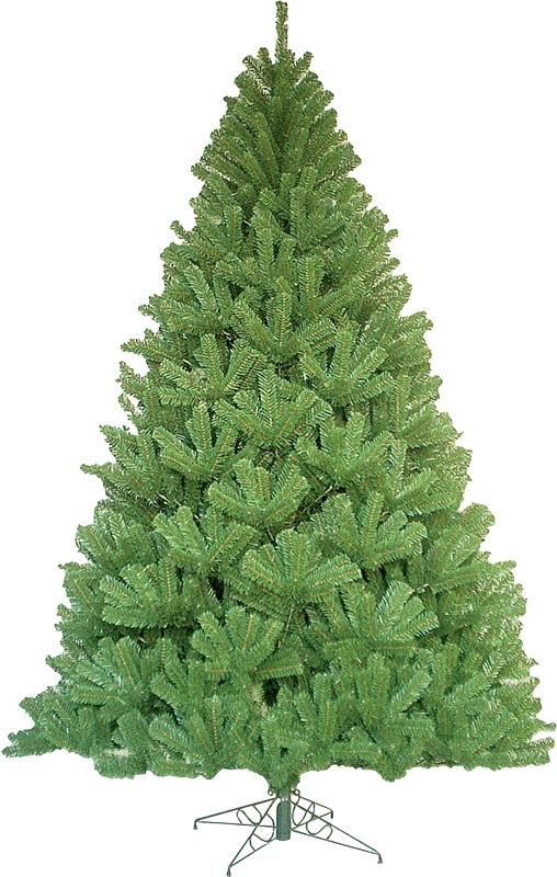 Santa's Forest 61046 Sheared Noble Fir Unlit Artificial Christmas Tree, 4-1/2 ft - CBS BAHAMAS LTD