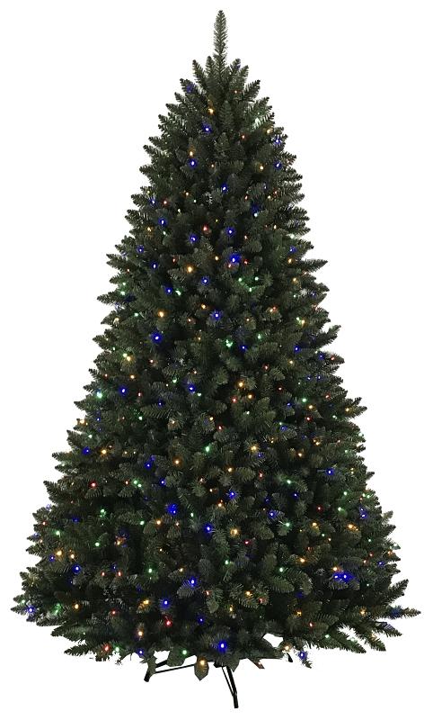 Santa's Forest 14976 Vancouver Fir Pre-Lit Artificial Christmas Tree, Color Changing LED, 7-1/2 ft - CBS BAHAMAS LTD
