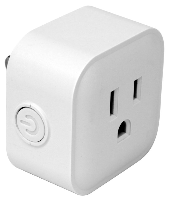 PowerZone Indoor Wifi Controlled Smart Outlet, 1-Outlet - CBS BAHAMAS LTD