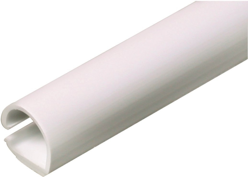 Legrand C10 Wiremold CordMate Cord Cover Channel, White PVC, 9/16 in W x 60 in L - CBS BAHAMAS LTD
