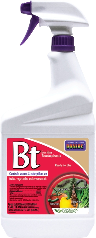 Bonide 806 Bacillus Thuringiensis, 32oz Spray Bottle - CBS BAHAMAS LTD