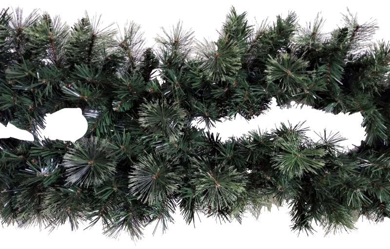 Santa's Forest 81037 Ponderosa Christmas Garland, 14 in W x 9 ft L - CBS BAHAMAS LTD
