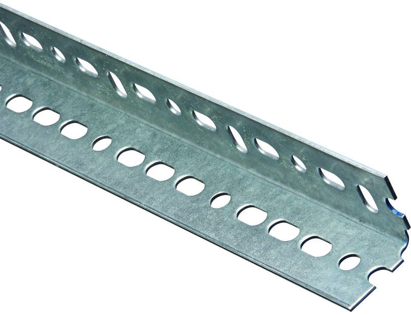 National Hardware Slotted Angle, 1-1/2 in x 72 in, Galvanized Steel - CBS BAHAMAS LTD