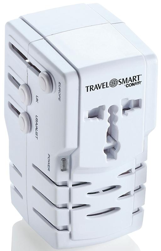 TRAVELSMART TS253ADN All-in-One Adapter Combo Unit - CBS BAHAMAS LTD