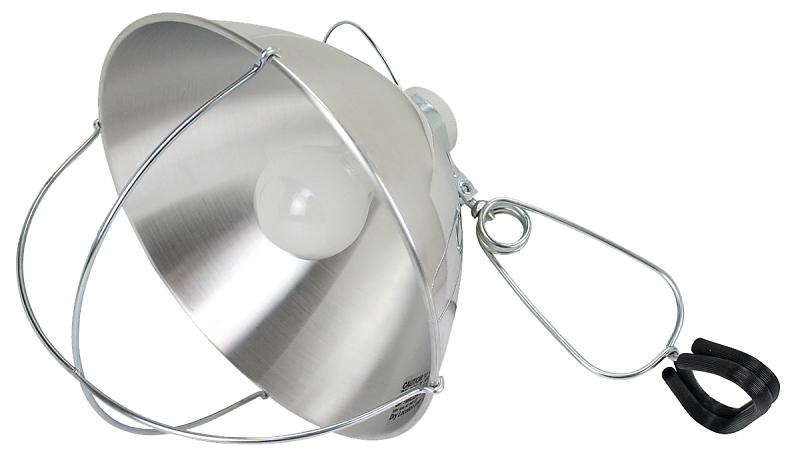 PowerZone CY1005 Adjustable Brooder Clamp Light, Incandescent Lamp, 250 W, 6 ft Cord - CBS BAHAMAS LTD