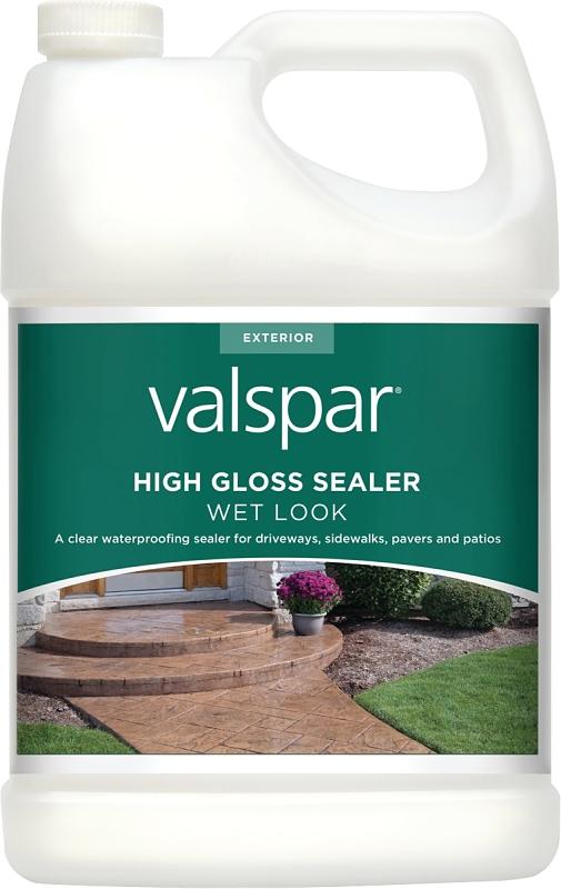 Valspar 82390 High Gloss Sealer, Wet Look, 1 Gal - CBS BAHAMAS LTD