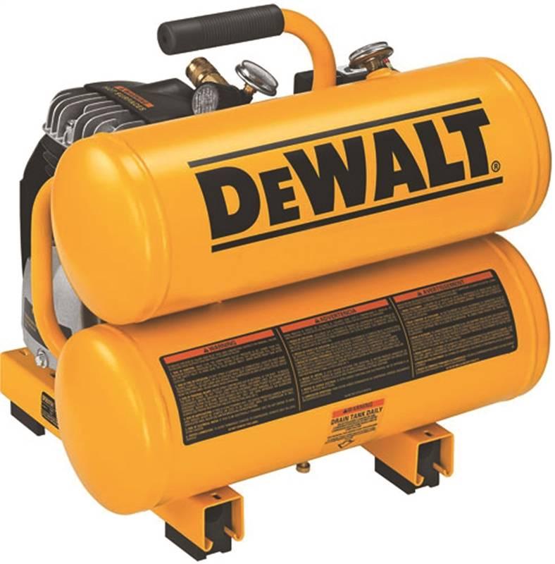 DeWALT D55151 4 Gal Portable Air Compressor, 100 PSI - CBS BAHAMAS LTD