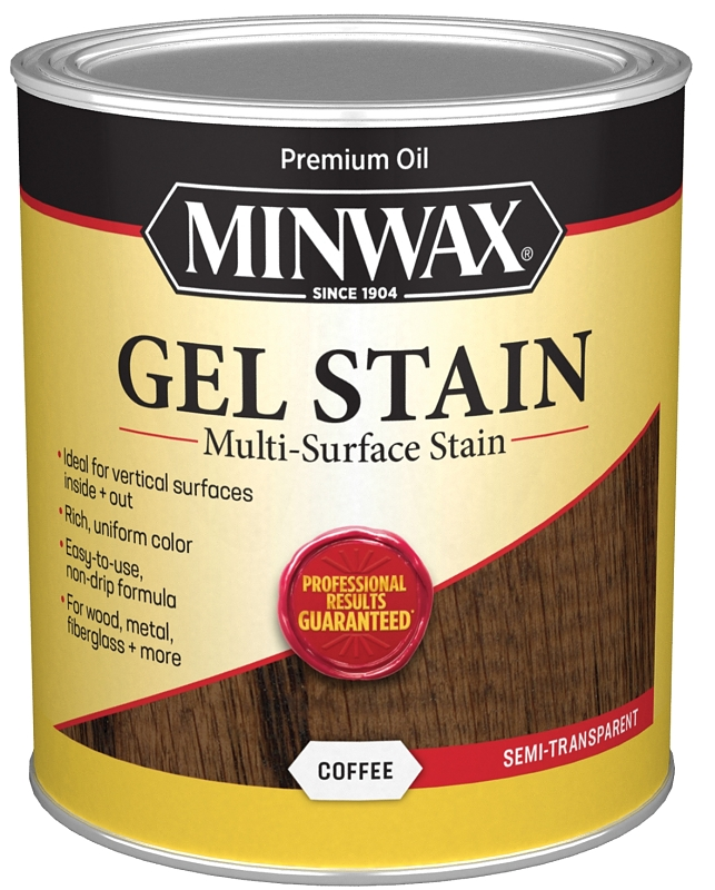 Minwax Gel Stain Coffee Oil-Based Interior Stain, 1 Qt - CBS BAHAMAS LTD