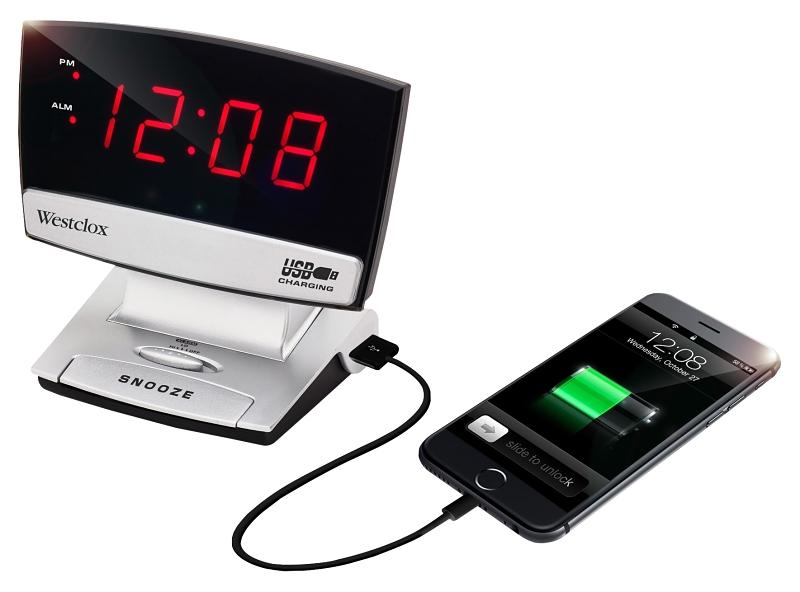 Westclox 71014X 8.5 in Alarm Clock, LED Display - CBS BAHAMAS LTD