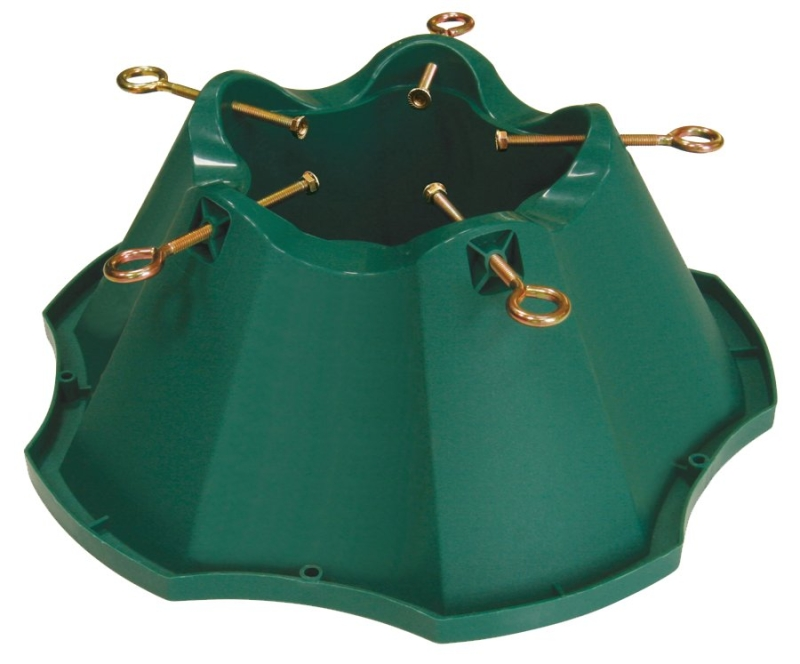 National Holidays Oasis High-Capacity Plastic Christmas Tree Stand, For Trees Up To 8 ft Tall - CBS BAHAMAS LTD