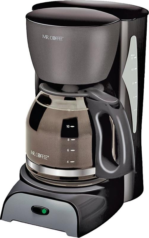 Mr. Coffee Coffee Maker, 12 Cups Capacity, 900 W, Black - CBS BAHAMAS LTD