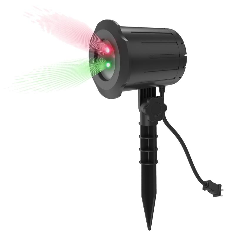 Prime LFLRG7 Instant MOTION Laser Light Show, Built-In Timer, Red & Green - CBS BAHAMAS LTD
