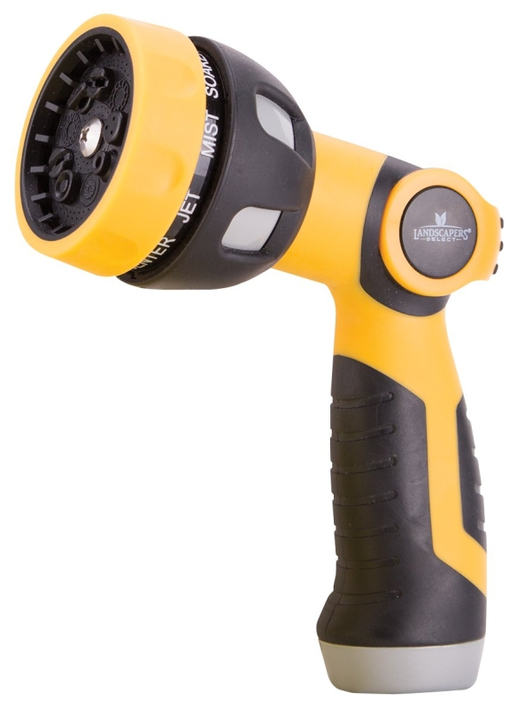 Landscapers Select GN-93691 9 Pattern Spray Nozzle, Plastic - CBS BAHAMAS LTD