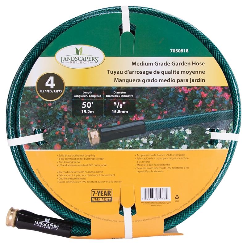 Landscapers Select Medium Grade Garden Hose, 50 ft x 5/8 in - CBS BAHAMAS LTD