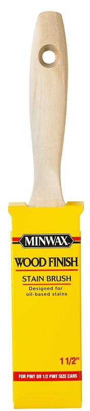 Minwax 80008 1.5 in Wood Finish Stain Brush - CBS BAHAMAS LTD
