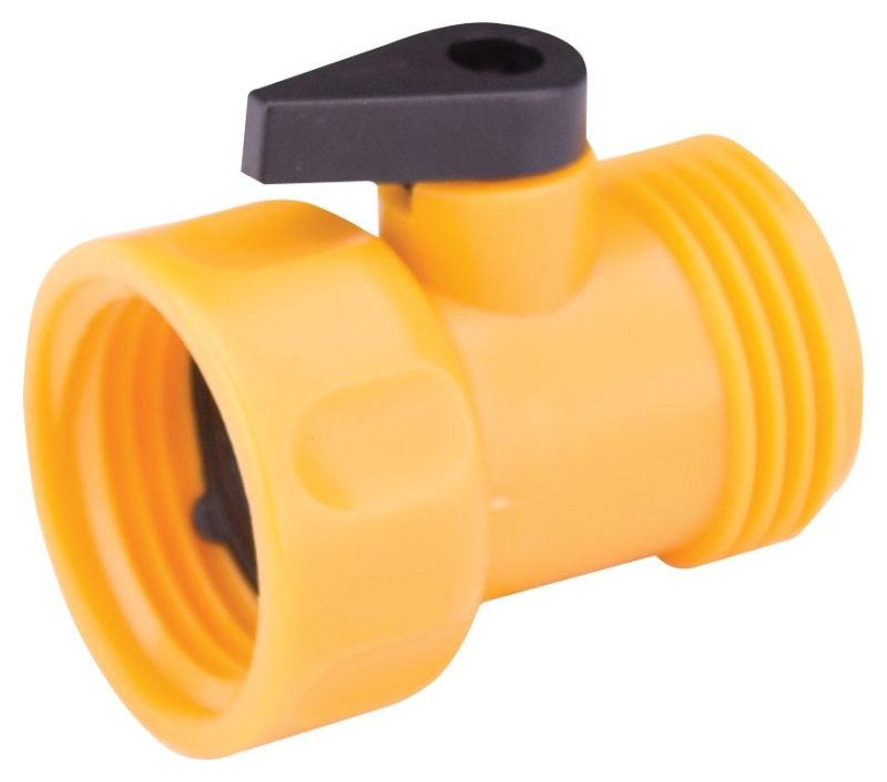 Landscapers Select GC5143L Hose Shut-Off Valve, 3/4in Female, Plastic - CBS BAHAMAS LTD