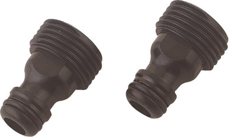 Landscapers Select GC545-2 Tap Adapter, 3/4 in Male, Plastic (2- Pack)  - CBS BAHAMAS LTD