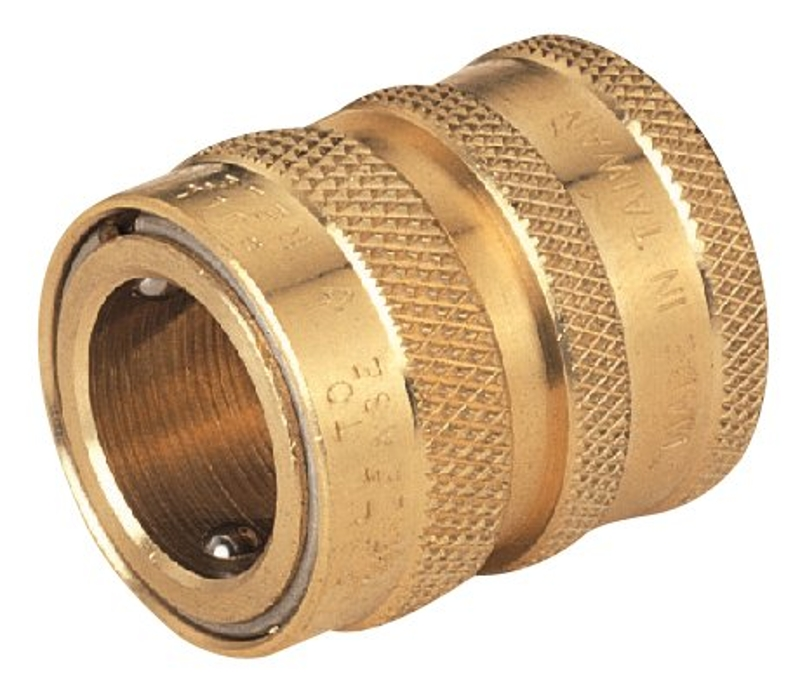 Landscapers Select GB9608(GB9513) Hose Connector, 3/4in Female, Brass - CBS BAHAMAS LTD