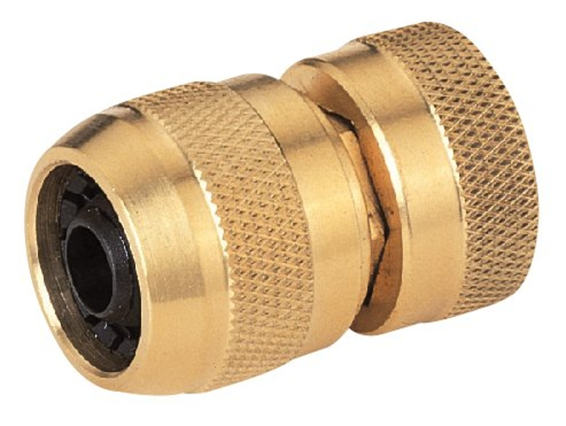 Landscapers Select GB8123-2(GB9211) Hose Coupling, 5/8in Female, Brass - CBS BAHAMAS LTD