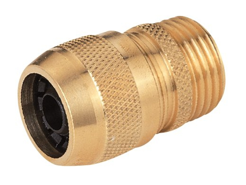 Landscapers Select GB8123-1(GB9210) Hose Coupling, 5/8in Male, Brass - CBS BAHAMAS LTD