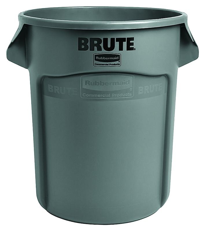 Rubbermaid BRUTE 20 Gal Round Trash Can, Gray - CBS BAHAMAS LTD