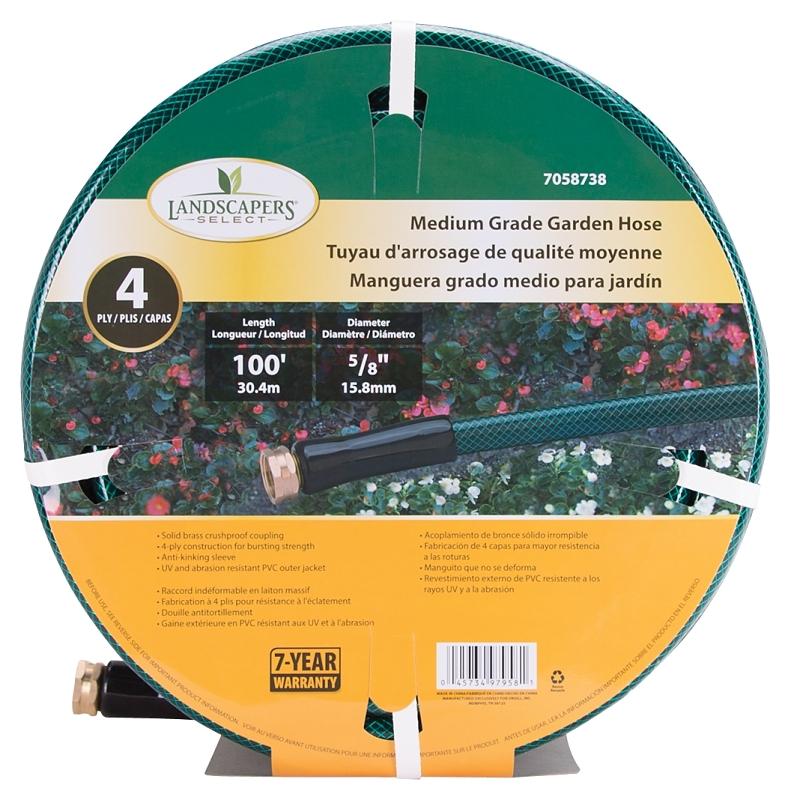 Landscapers Select Medium Grade Garden Hose, 100 ft x 5/8 in - CBS BAHAMAS LTD