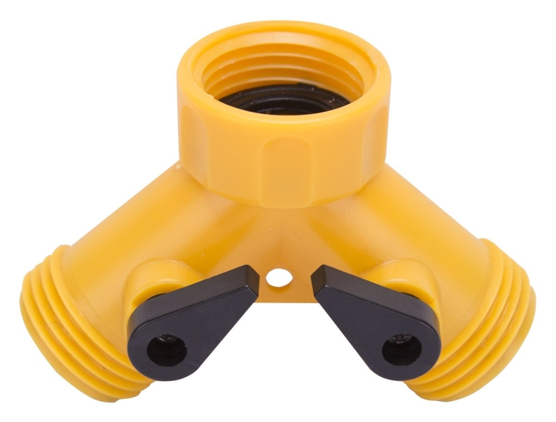 Landscapers Select GC5113L Hose Y-Connector, Plastic - CBS BAHAMAS LTD