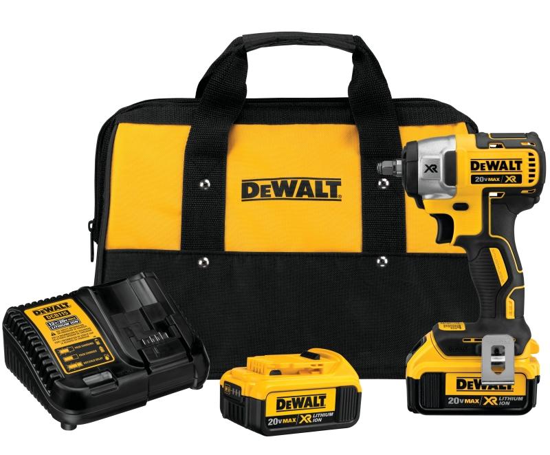 DeWALT DCF890M2 20V MAX XR 3/8 in Compact Impact Wrench Kit, Brushless - CBS BAHAMAS LTD