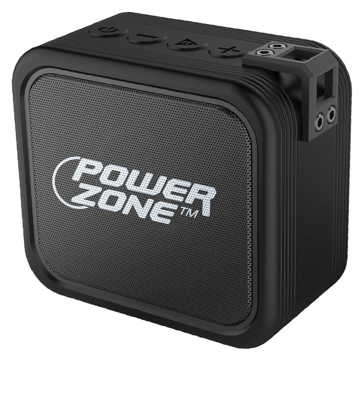 PowerZone K62 Water Resistant Portable Wireless Speaker - CBS BAHAMAS LTD