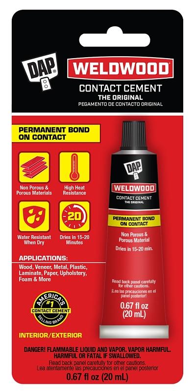 DAP Weldwood 00129 Original Contact Cement, .67 Fl Oz - CBS BAHAMAS LTD