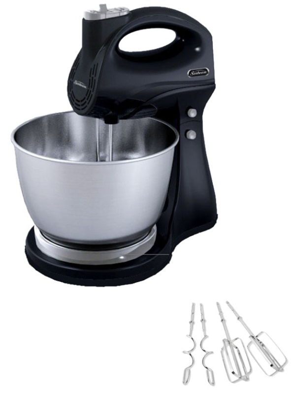 RIVAL Hand and Stand Mixer, 5-Speed, Black - CBS BAHAMAS LTD