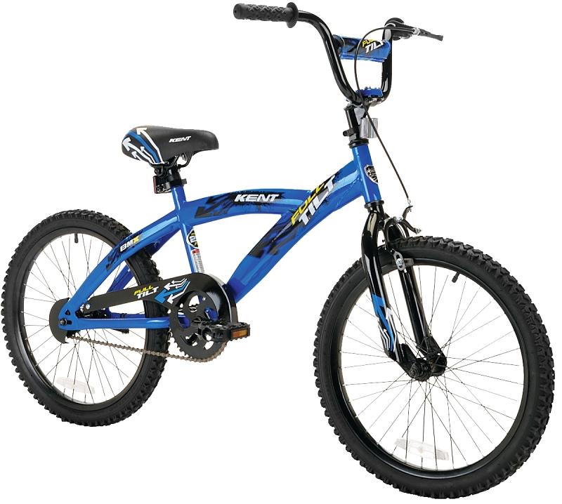 Kent 22082 Full-Tilt Bicycle, 20 in, Boys, Blue - CBS BAHAMAS LTD