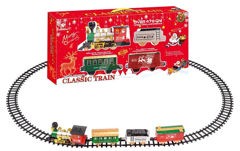Santa's Forest 36501 Classic Christmas Train Starter Set, 479 cm Track - CBS BAHAMAS LTD