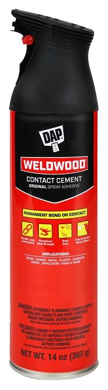 DAP Weldwood 00120 Original Spray Contact Cement, 14 Fl Oz - CBS BAHAMAS LTD