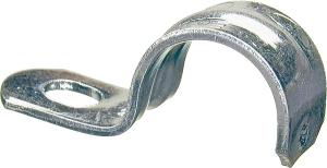 Halex 26153 1-Hole Electrical Metallic Tube (EMT) Straps, 1 in, Galvanized Steel (4 Pack) - CBS BAHAMAS LTD