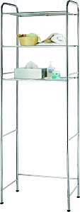 Simple Spaces TS16C0-CH Bath Shelf, 3-Shelf, Chrome - CBS BAHAMAS LTD