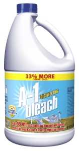 Main 1 - Austin A-1 Bleach, Contains 5.25% Sodium Hypochlorite, 81 oz - CBS BAHAMAS LTD